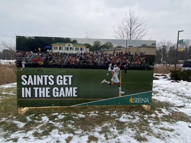 Billboard for College Soccer